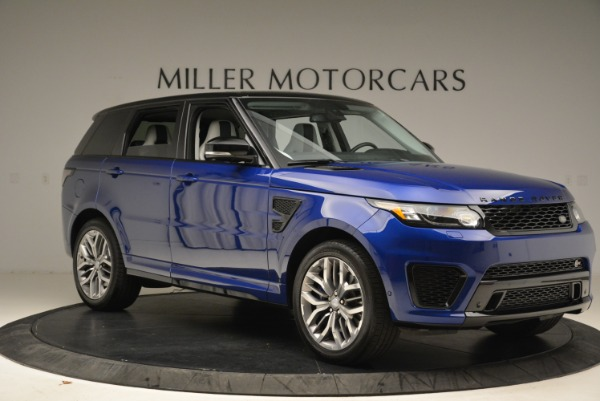 Used 2015 Land Rover Range Rover Sport SVR for sale Sold at Alfa Romeo of Greenwich in Greenwich CT 06830 10