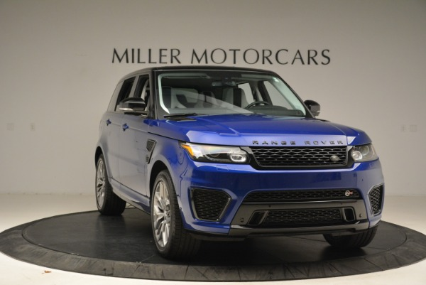 Used 2015 Land Rover Range Rover Sport SVR for sale Sold at Alfa Romeo of Greenwich in Greenwich CT 06830 11