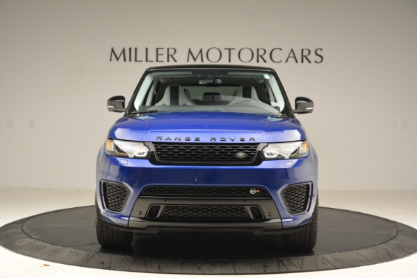 Used 2015 Land Rover Range Rover Sport SVR for sale Sold at Alfa Romeo of Greenwich in Greenwich CT 06830 12