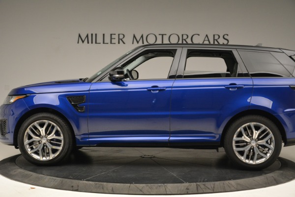Used 2015 Land Rover Range Rover Sport SVR for sale Sold at Alfa Romeo of Greenwich in Greenwich CT 06830 3