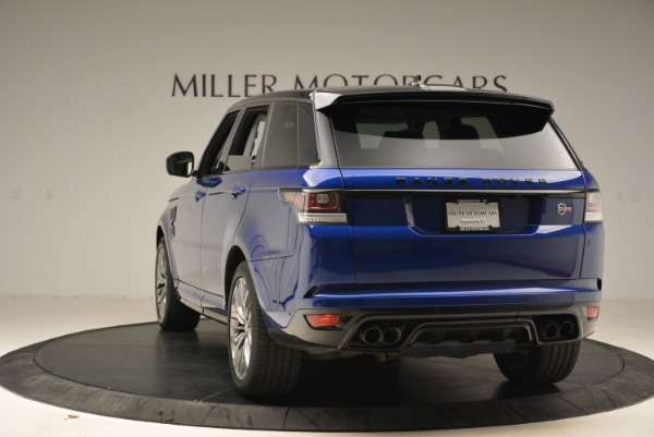 Used 2015 Land Rover Range Rover Sport SVR for sale Sold at Alfa Romeo of Greenwich in Greenwich CT 06830 5