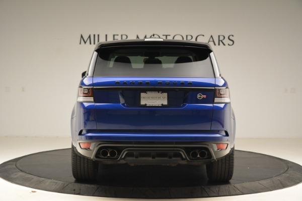 Used 2015 Land Rover Range Rover Sport SVR for sale Sold at Alfa Romeo of Greenwich in Greenwich CT 06830 6