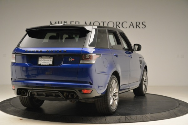 Used 2015 Land Rover Range Rover Sport SVR for sale Sold at Alfa Romeo of Greenwich in Greenwich CT 06830 7