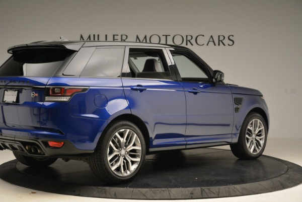 Used 2015 Land Rover Range Rover Sport SVR for sale Sold at Alfa Romeo of Greenwich in Greenwich CT 06830 8