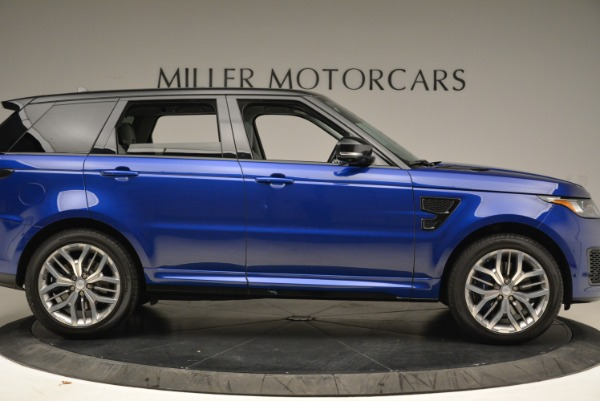 Used 2015 Land Rover Range Rover Sport SVR for sale Sold at Alfa Romeo of Greenwich in Greenwich CT 06830 9