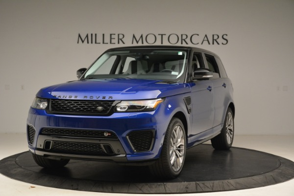 Used 2015 Land Rover Range Rover Sport SVR for sale Sold at Alfa Romeo of Greenwich in Greenwich CT 06830 1