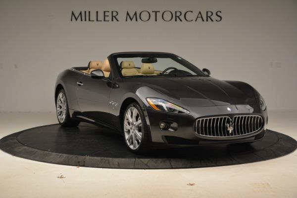 Used 2013 Maserati GranTurismo Convertible for sale Sold at Alfa Romeo of Greenwich in Greenwich CT 06830 11