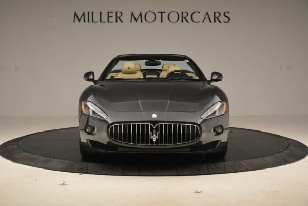 Used 2013 Maserati GranTurismo Convertible for sale Sold at Alfa Romeo of Greenwich in Greenwich CT 06830 12