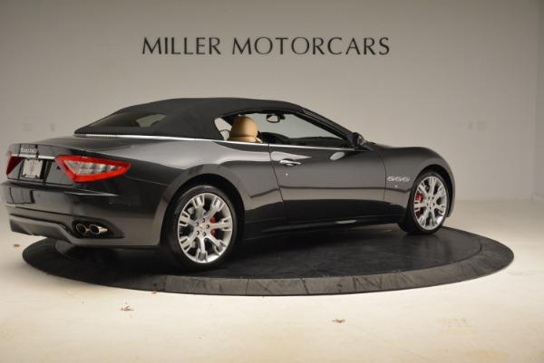 Used 2013 Maserati GranTurismo Convertible for sale Sold at Alfa Romeo of Greenwich in Greenwich CT 06830 20