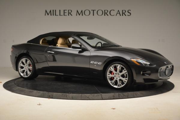 Used 2013 Maserati GranTurismo Convertible for sale Sold at Alfa Romeo of Greenwich in Greenwich CT 06830 22