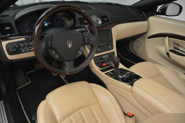 Used 2013 Maserati GranTurismo Convertible for sale Sold at Alfa Romeo of Greenwich in Greenwich CT 06830 25