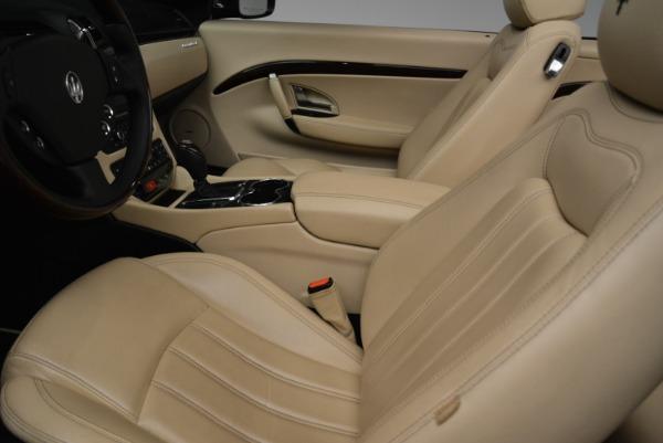 Used 2013 Maserati GranTurismo Convertible for sale Sold at Alfa Romeo of Greenwich in Greenwich CT 06830 26
