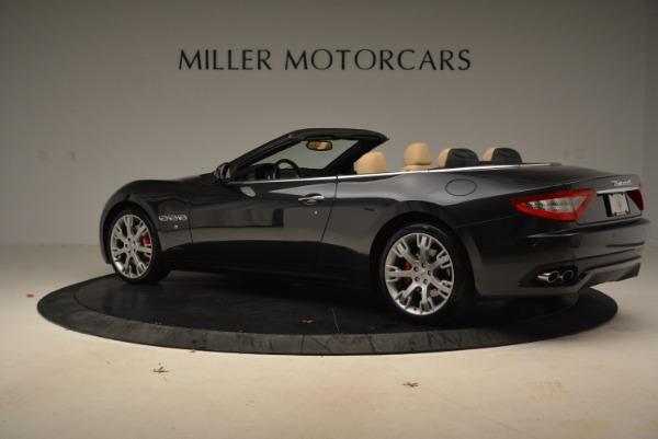 Used 2013 Maserati GranTurismo Convertible for sale Sold at Alfa Romeo of Greenwich in Greenwich CT 06830 4
