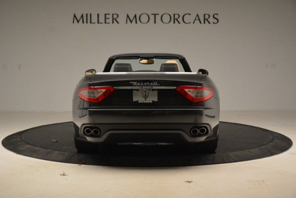 Used 2013 Maserati GranTurismo Convertible for sale Sold at Alfa Romeo of Greenwich in Greenwich CT 06830 6