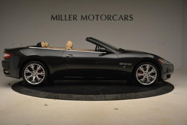 Used 2013 Maserati GranTurismo Convertible for sale Sold at Alfa Romeo of Greenwich in Greenwich CT 06830 9