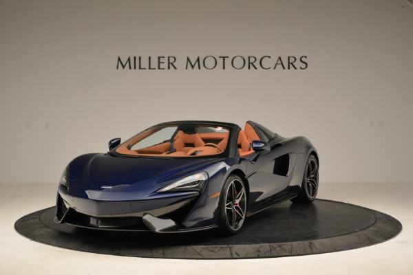 New 2018 McLaren 570S Spider for sale Sold at Alfa Romeo of Greenwich in Greenwich CT 06830 1