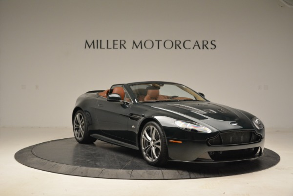 Used 2017 Aston Martin V12 Vantage S Roadster for sale Sold at Alfa Romeo of Greenwich in Greenwich CT 06830 11