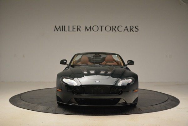 Used 2017 Aston Martin V12 Vantage S Roadster for sale Sold at Alfa Romeo of Greenwich in Greenwich CT 06830 12