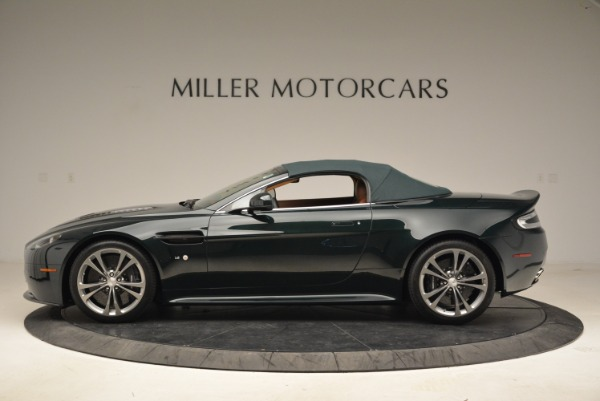 Used 2017 Aston Martin V12 Vantage S Roadster for sale Sold at Alfa Romeo of Greenwich in Greenwich CT 06830 15