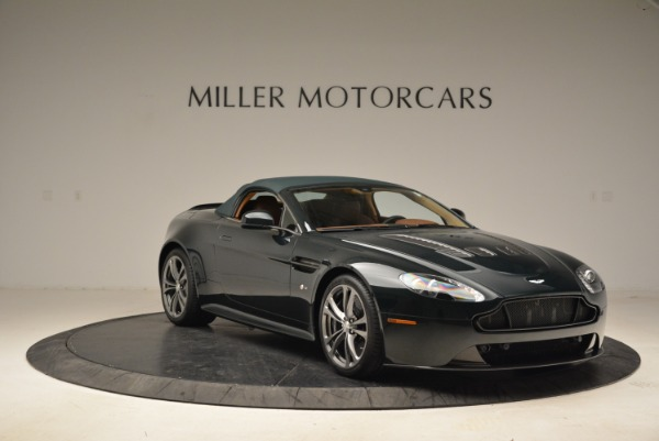 Used 2017 Aston Martin V12 Vantage S Roadster for sale Sold at Alfa Romeo of Greenwich in Greenwich CT 06830 18