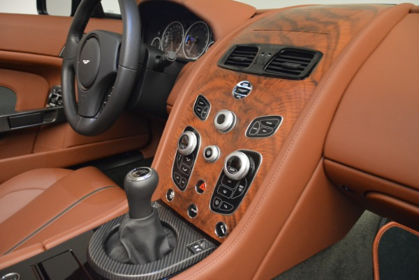 Used 2017 Aston Martin V12 Vantage S Roadster for sale Sold at Alfa Romeo of Greenwich in Greenwich CT 06830 24