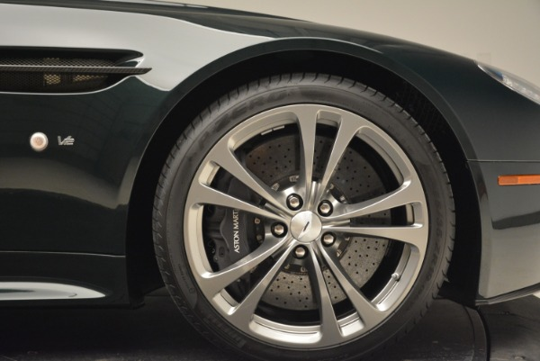 Used 2017 Aston Martin V12 Vantage S Roadster for sale Sold at Alfa Romeo of Greenwich in Greenwich CT 06830 26