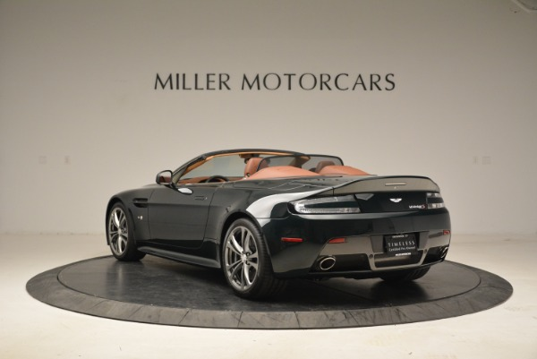 Used 2017 Aston Martin V12 Vantage S Roadster for sale Sold at Alfa Romeo of Greenwich in Greenwich CT 06830 5