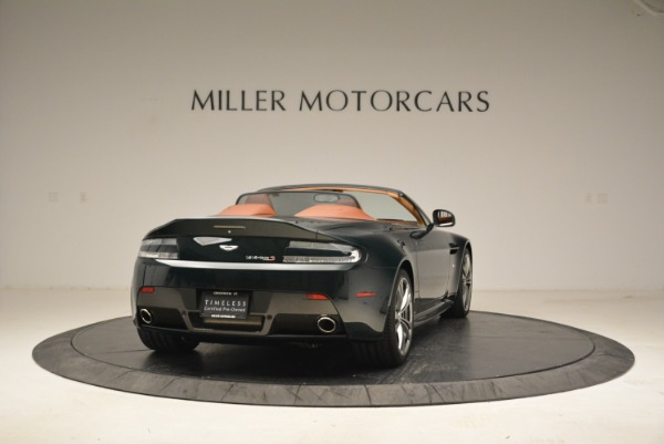 Used 2017 Aston Martin V12 Vantage S Roadster for sale Sold at Alfa Romeo of Greenwich in Greenwich CT 06830 7