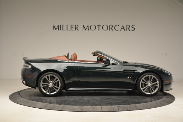 Used 2017 Aston Martin V12 Vantage S Roadster for sale Sold at Alfa Romeo of Greenwich in Greenwich CT 06830 9