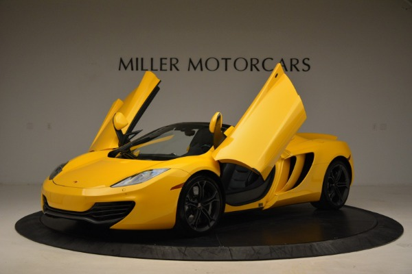 Used 2014 McLaren MP4-12C Spider for sale Sold at Alfa Romeo of Greenwich in Greenwich CT 06830 14