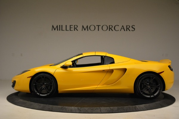 Used 2014 McLaren MP4-12C Spider for sale Sold at Alfa Romeo of Greenwich in Greenwich CT 06830 16