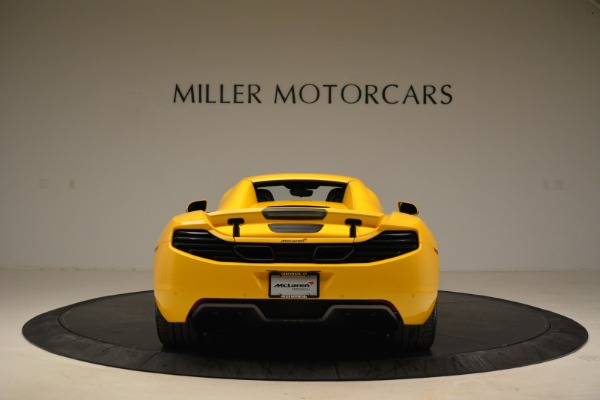 Used 2014 McLaren MP4-12C Spider for sale Sold at Alfa Romeo of Greenwich in Greenwich CT 06830 18