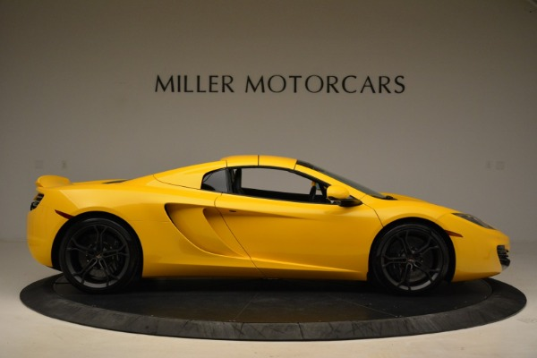 Used 2014 McLaren MP4-12C Spider for sale Sold at Alfa Romeo of Greenwich in Greenwich CT 06830 20