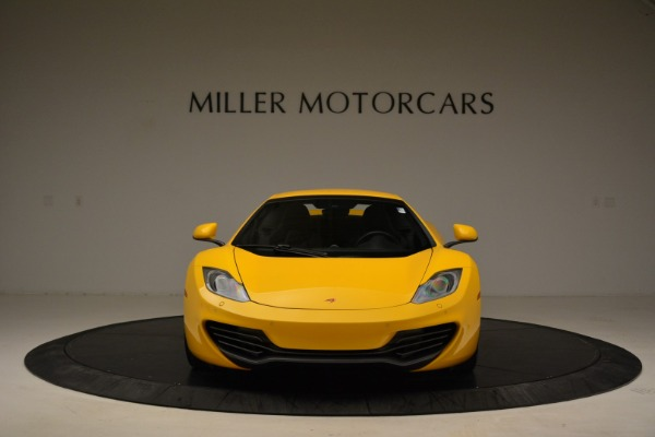 Used 2014 McLaren MP4-12C Spider for sale Sold at Alfa Romeo of Greenwich in Greenwich CT 06830 22