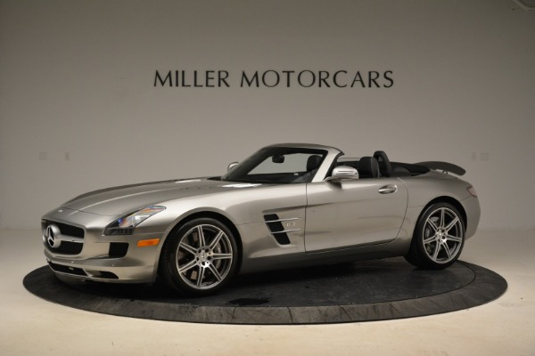 Used 2012 Mercedes-Benz SLS AMG for sale Sold at Alfa Romeo of Greenwich in Greenwich CT 06830 2