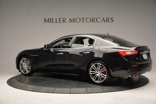 Used 2015 Maserati Ghibli S Q4 for sale Sold at Alfa Romeo of Greenwich in Greenwich CT 06830 4