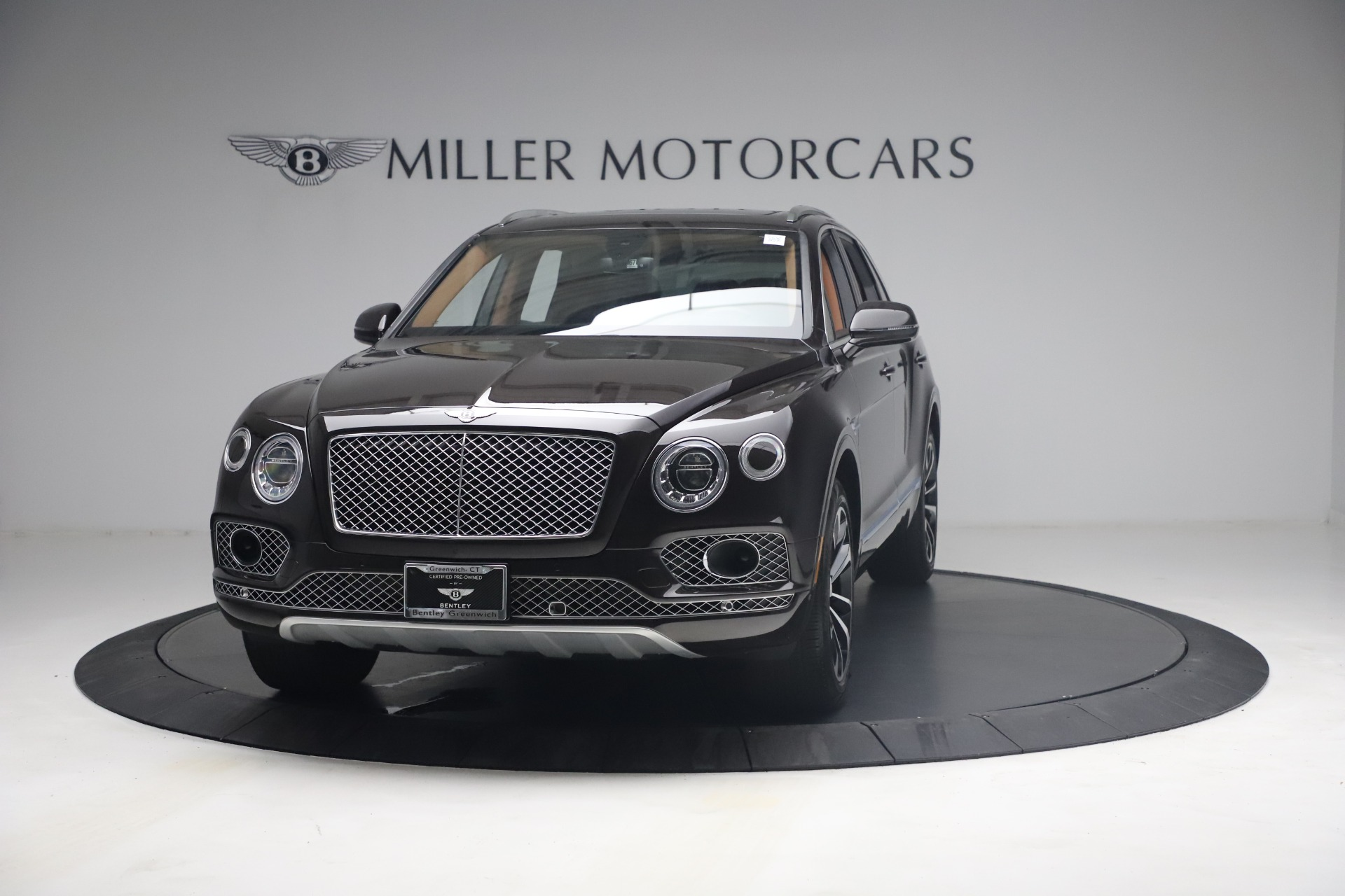 Used 2018 Bentley Bentayga W12 Signature for sale Call for price at Alfa Romeo of Greenwich in Greenwich CT 06830 1