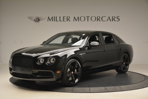 New 2018 Bentley Flying Spur V8 S Black Edition for sale Sold at Alfa Romeo of Greenwich in Greenwich CT 06830 2