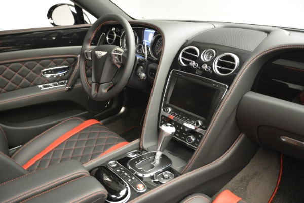 New 2018 Bentley Flying Spur V8 S Black Edition for sale Sold at Alfa Romeo of Greenwich in Greenwich CT 06830 23