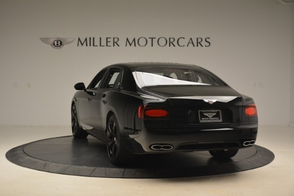 New 2018 Bentley Flying Spur V8 S Black Edition for sale Sold at Alfa Romeo of Greenwich in Greenwich CT 06830 5
