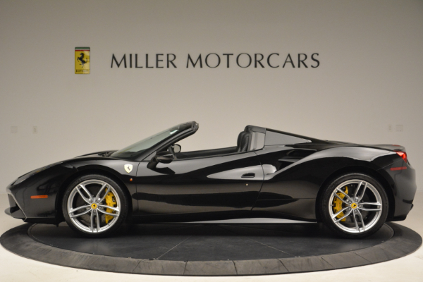 Used 2016 Ferrari 488 Spider for sale Sold at Alfa Romeo of Greenwich in Greenwich CT 06830 3