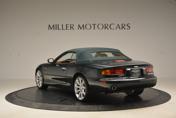 Used 2003 Aston Martin DB7 Vantage Volante for sale Sold at Alfa Romeo of Greenwich in Greenwich CT 06830 17