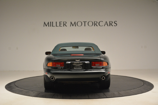 Used 2003 Aston Martin DB7 Vantage Volante for sale Sold at Alfa Romeo of Greenwich in Greenwich CT 06830 18