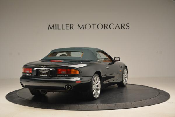 Used 2003 Aston Martin DB7 Vantage Volante for sale Sold at Alfa Romeo of Greenwich in Greenwich CT 06830 19