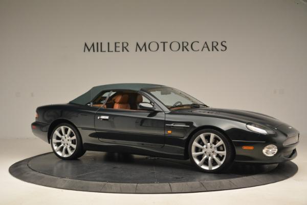 Used 2003 Aston Martin DB7 Vantage Volante for sale Sold at Alfa Romeo of Greenwich in Greenwich CT 06830 22