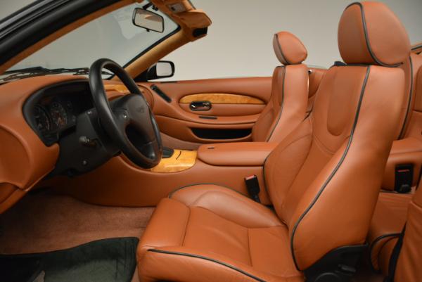 Used 2003 Aston Martin DB7 Vantage Volante for sale Sold at Alfa Romeo of Greenwich in Greenwich CT 06830 23