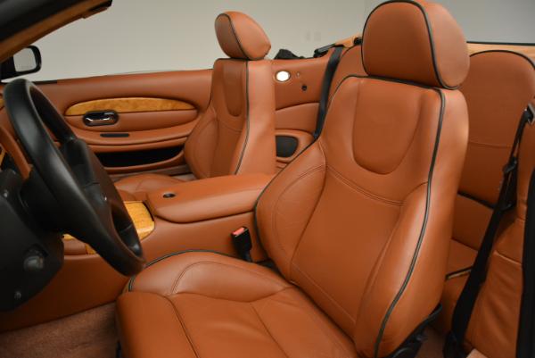 Used 2003 Aston Martin DB7 Vantage Volante for sale Sold at Alfa Romeo of Greenwich in Greenwich CT 06830 26