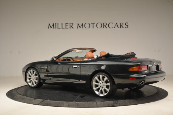 Used 2003 Aston Martin DB7 Vantage Volante for sale Sold at Alfa Romeo of Greenwich in Greenwich CT 06830 4