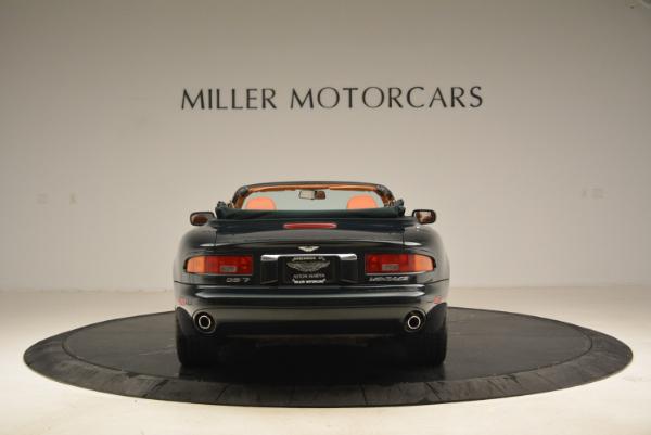 Used 2003 Aston Martin DB7 Vantage Volante for sale Sold at Alfa Romeo of Greenwich in Greenwich CT 06830 6