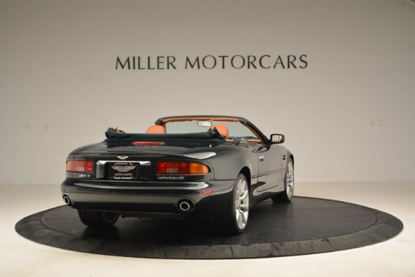 Used 2003 Aston Martin DB7 Vantage Volante for sale Sold at Alfa Romeo of Greenwich in Greenwich CT 06830 7